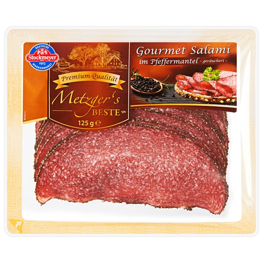Stockmeyer Gourmet Salami im Pfeffermantel 125g