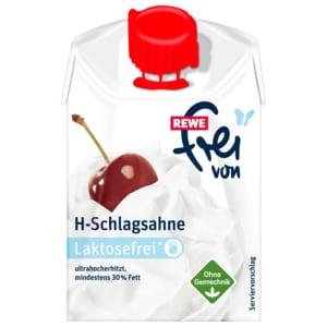 REWE Frei von H-Schlagsahne 200g