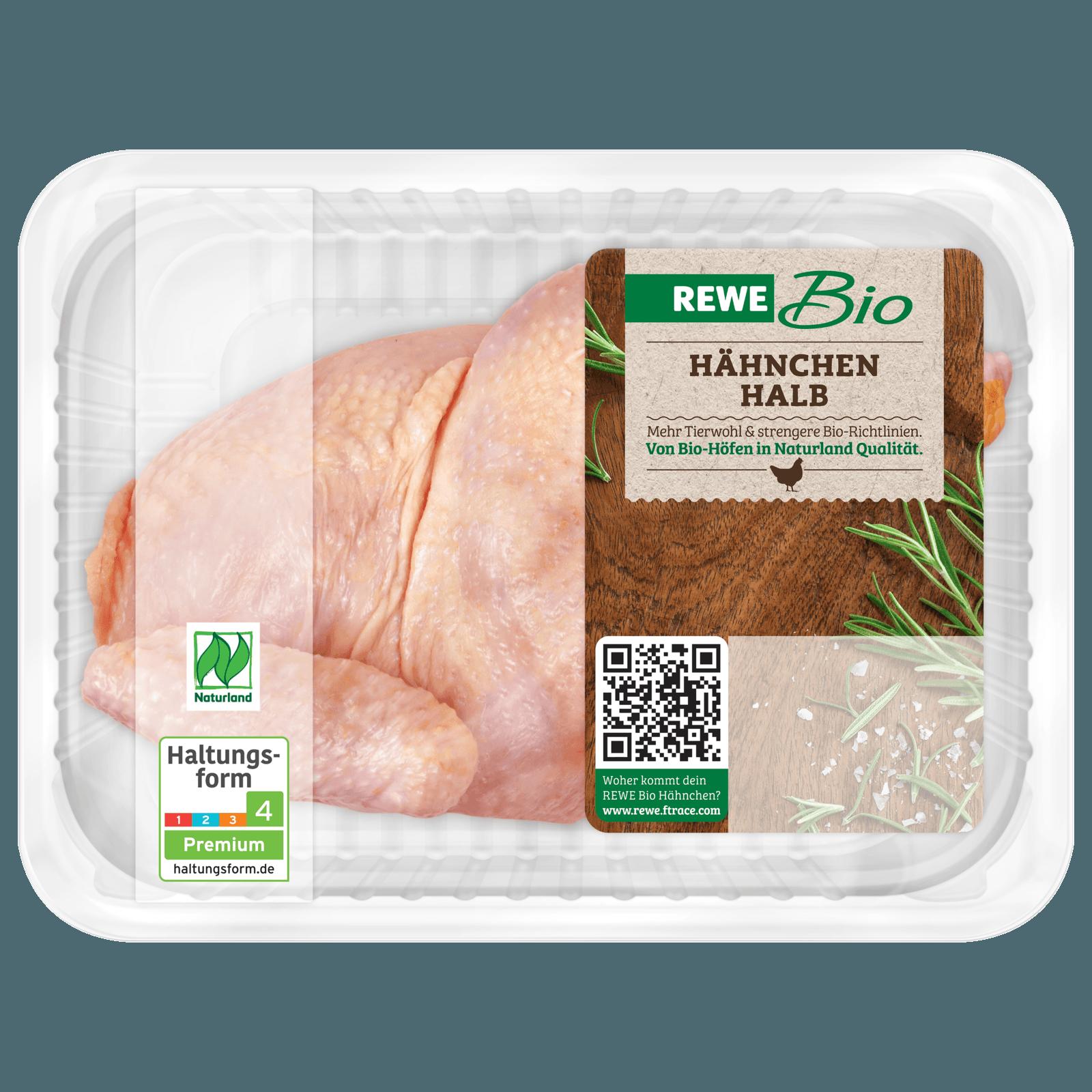 REWE Bio Halbes Hähnchen 800g bei REWE online bestellen!