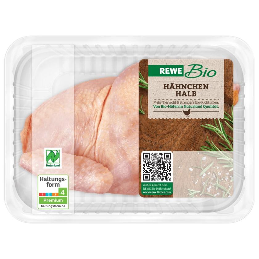 REWE Bio Halbes Hähnchen 850g