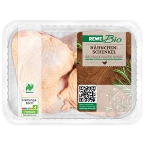 REWE Bio Hähnchenschenkel 500g