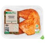 REWE Bio Hähnchenschenkel gewürzt 500g