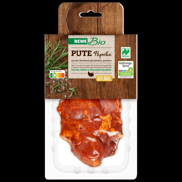 REWE Bio Puten Paprikasteak ca. 300g