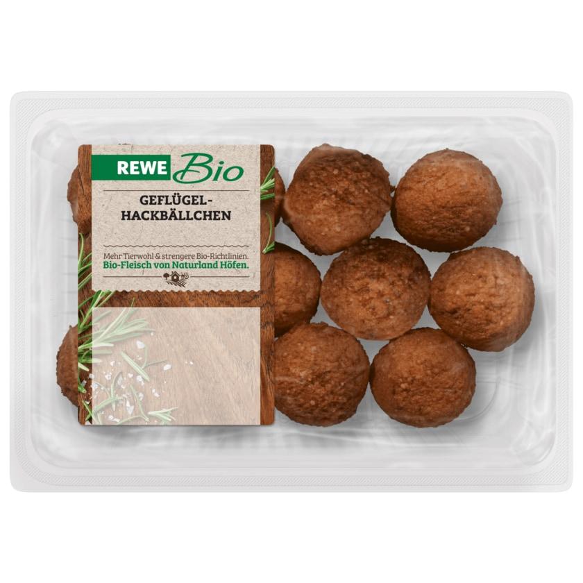 REWE Bio Geflügelhackbällchen 300g