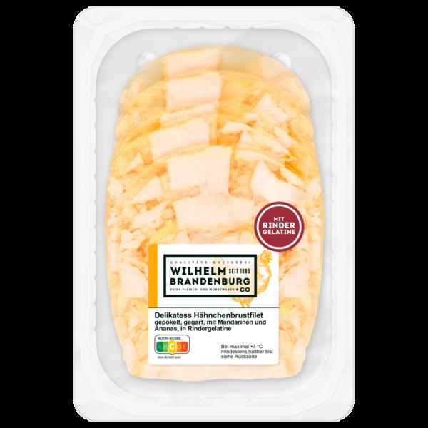 Wilhelm Brandenburg Hähnchenfilet mit Ananas & Mandarinen in Aspik 100g