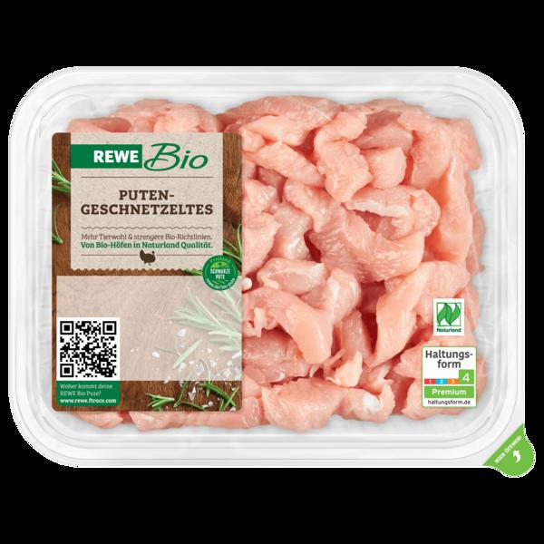 REWE Bio Putengeschnetzeltes 400g