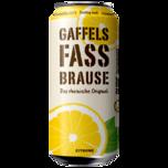 Gaffels Fassbrause Zitrone 0,5l