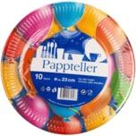 Pappteller Balloons Fantasy 10 Stück