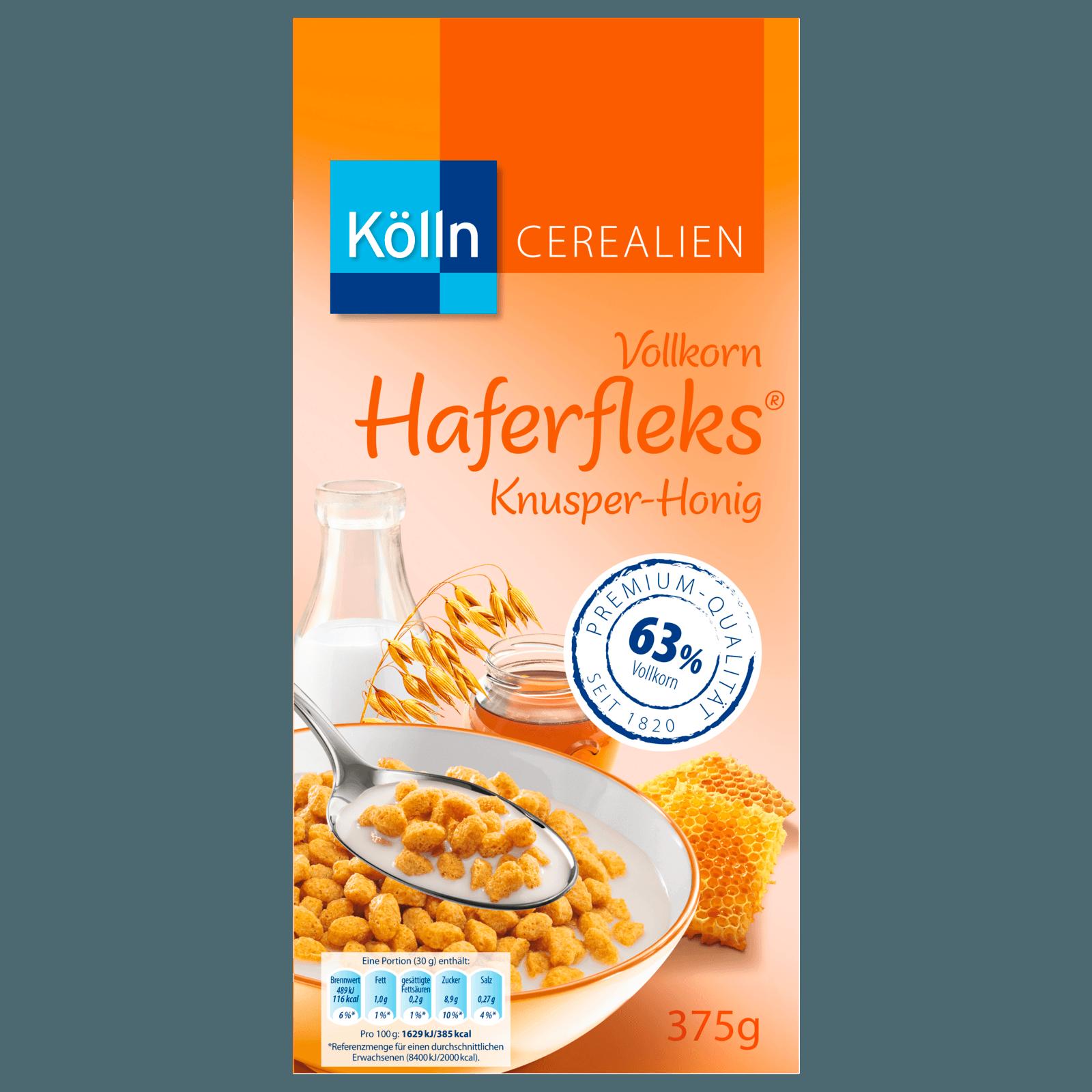 Kölln Vollkorn-Haferfleks Honig 375g