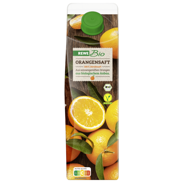 REWE Bio Orangensaft 1l