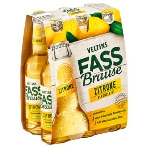 Veltins Fassbrause Zitrone alkoholfrei 6x0,33l