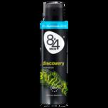 8x4 Men Deo-Spray Discovery ohne Aluminium 150ml