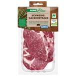 REWE Bio Schweine Nackensteaks 500g