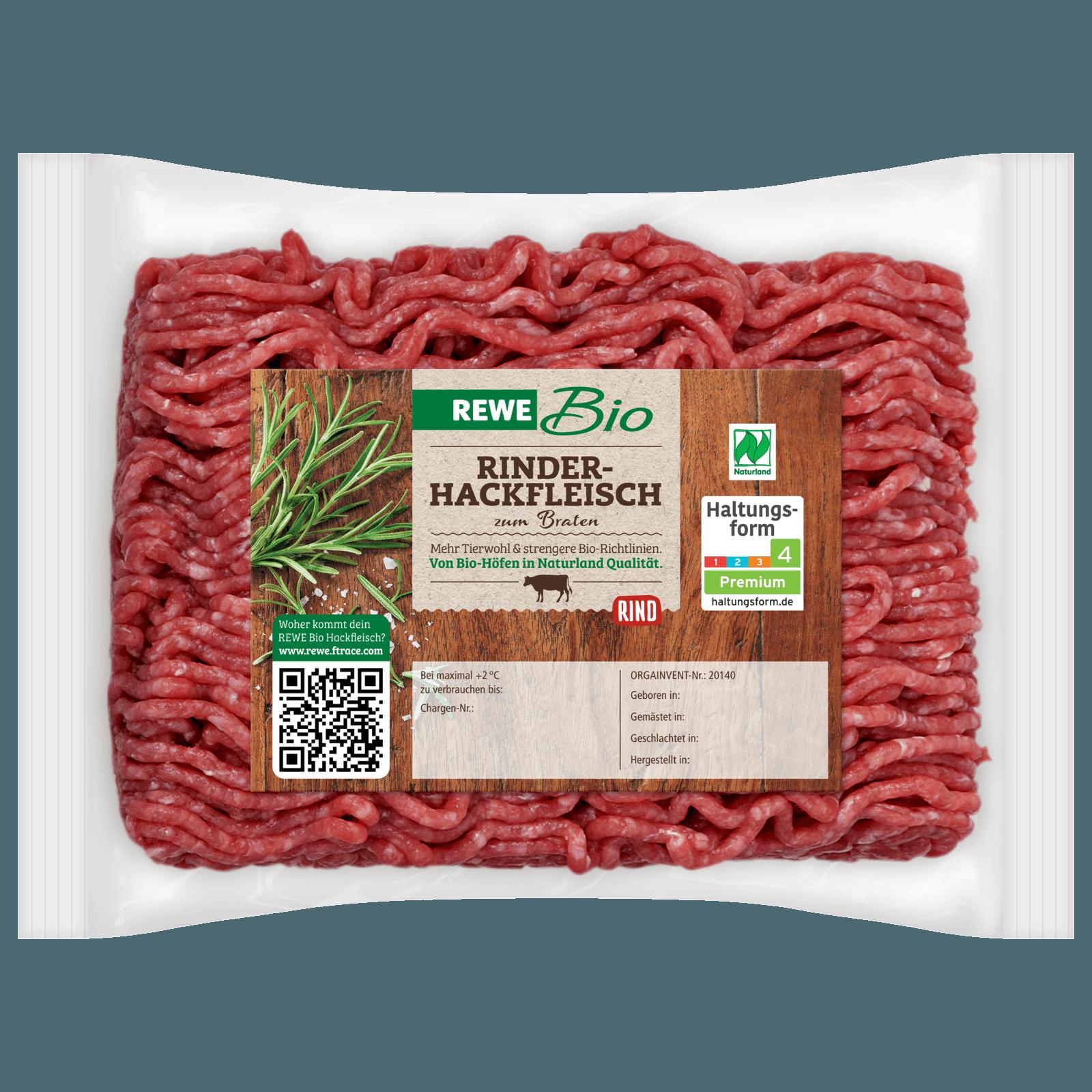 Rewe Bio Rinderhackfleisch 400g Bei Rewe Online Bestellen