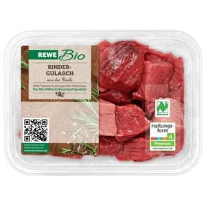 REWE Bio Rindergulasch aus der Keule 500g