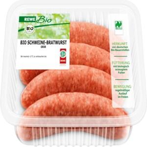 REWE Bio Bratwurst grob 300g