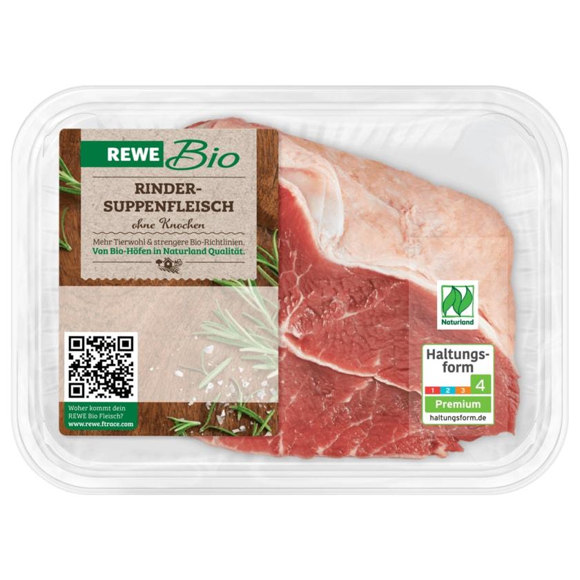 REWE Bio Rinder-Suppenfleisch 400g