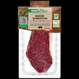 REWE Bio Rinder Rumpsteak ca. 240g