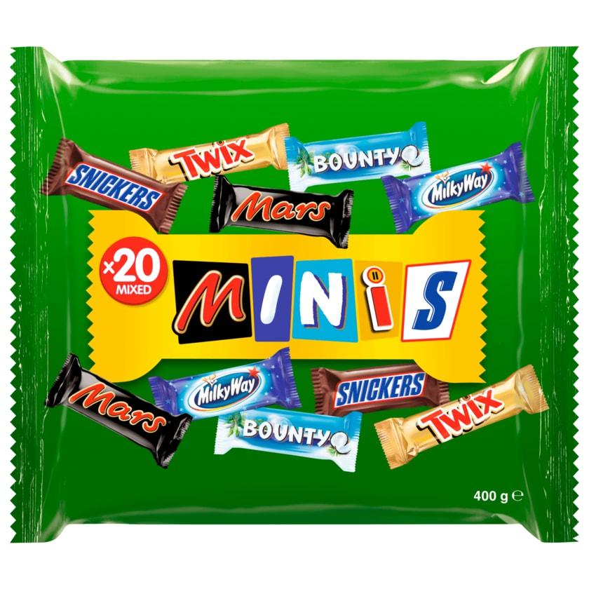 Mixed Minis 20 Schokoriegel 400g