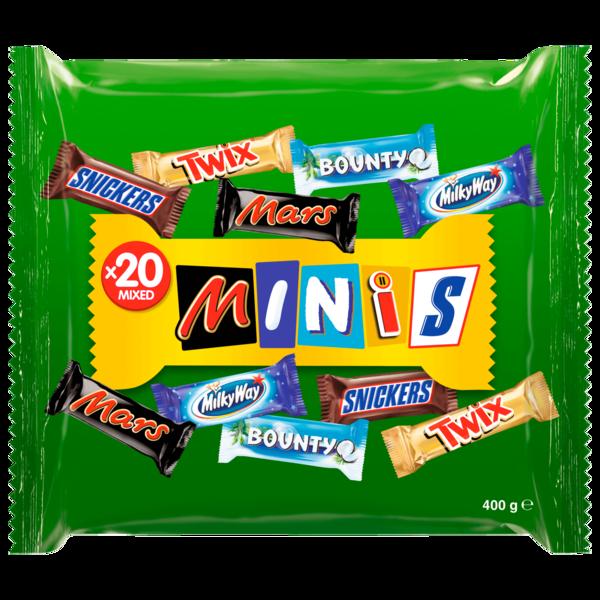 Mars Mixed Minis Schokoriegel 400g