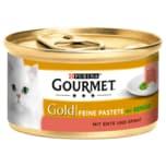 Gourmet Gold Feine Pastete mit Ente & Spinat 85g