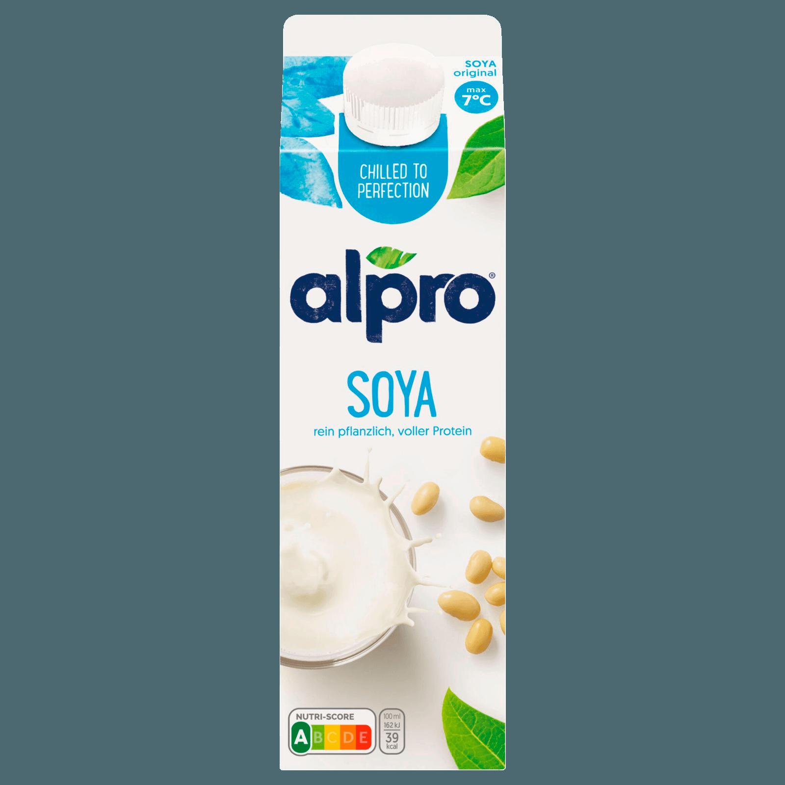 Alpro Sojadrink Original fresh mit Calcium, 1,0l