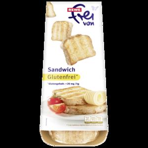 REWE Frei von Sandwich 310g