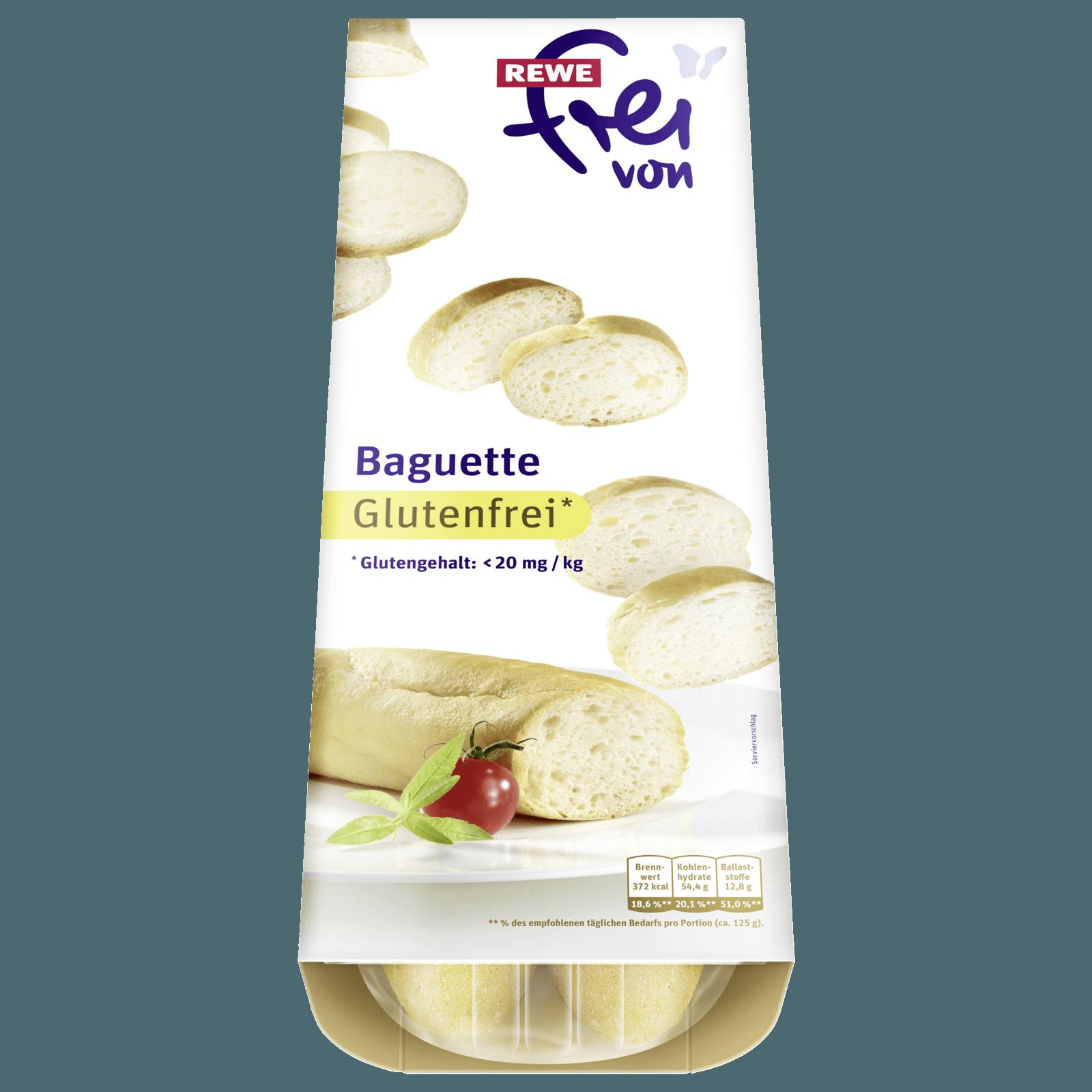 REWE Frei von Baguette glutenfrei 250g