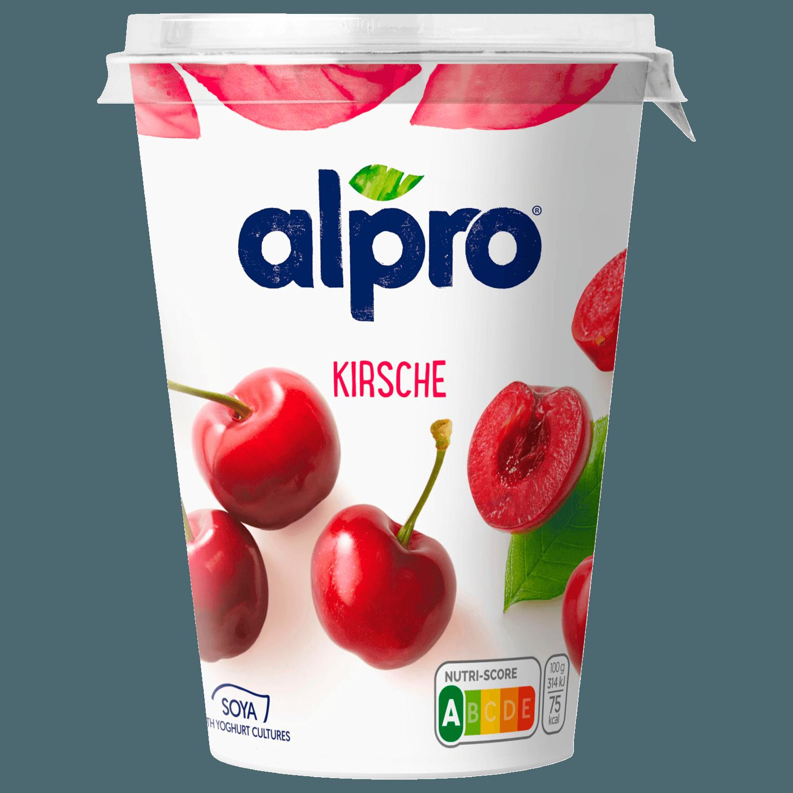 Alpro Soja-Joghurtalternative Kirsche 500g