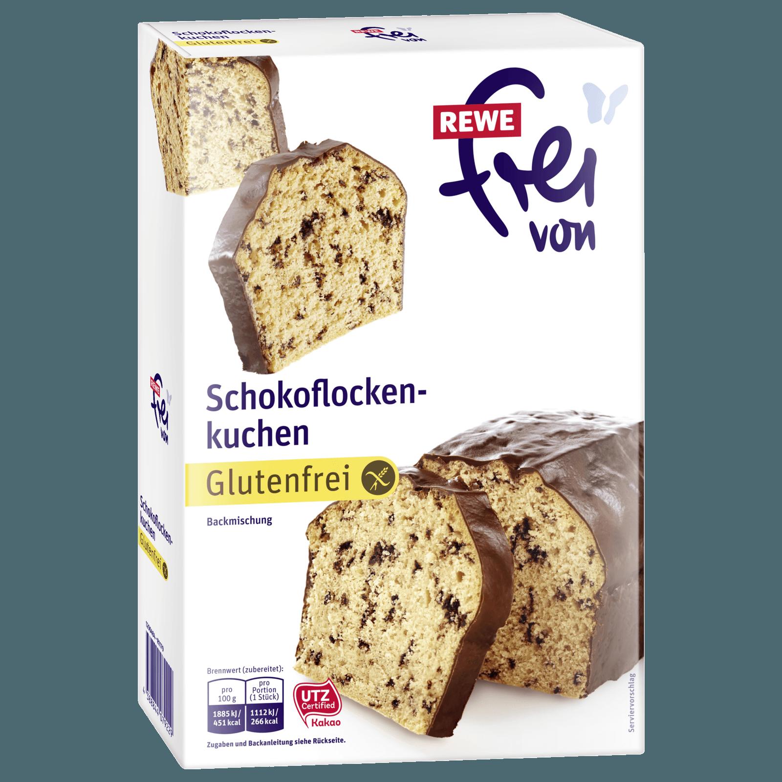 Rewe Frei Von Schokoflockenkuchen 455g Bei Rewe Online Bestellen
