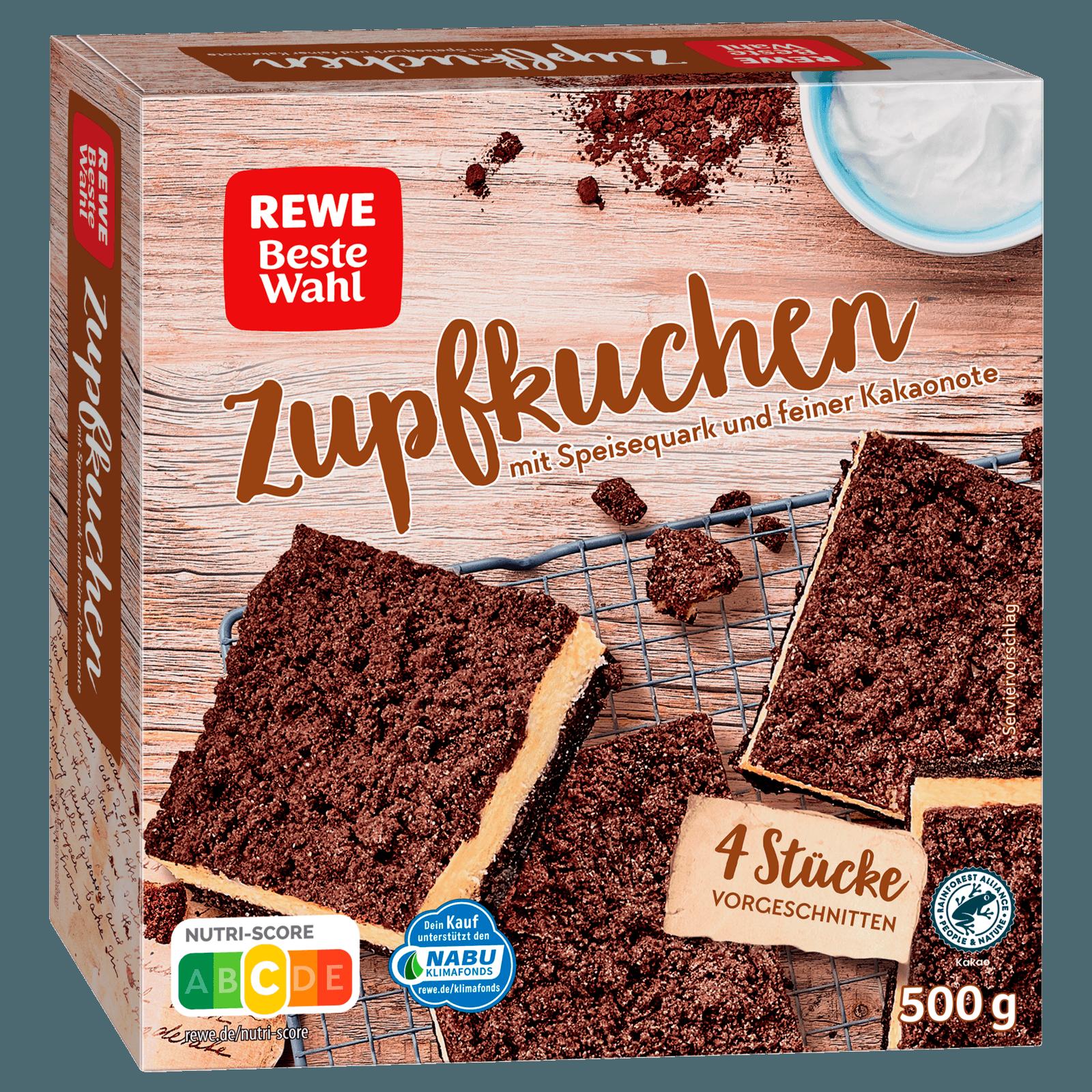 REWE Beste Wahl Zupfkuchen 500g