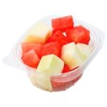 Honig- und Wassermelone, geschnitten