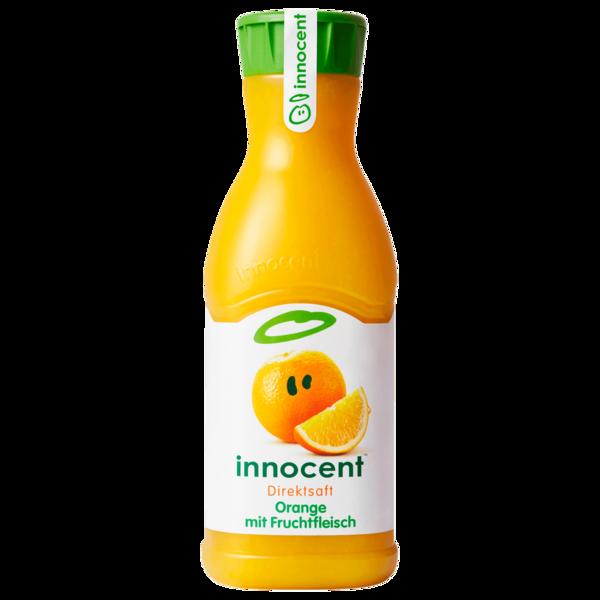 Orangensaft Mit Fruchtfleisch