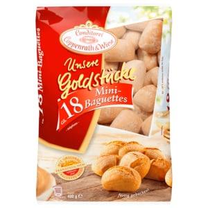 Coppenrath & Wiese Unsere Goldstücke Mini-Baguettes 400g, 18 Stück