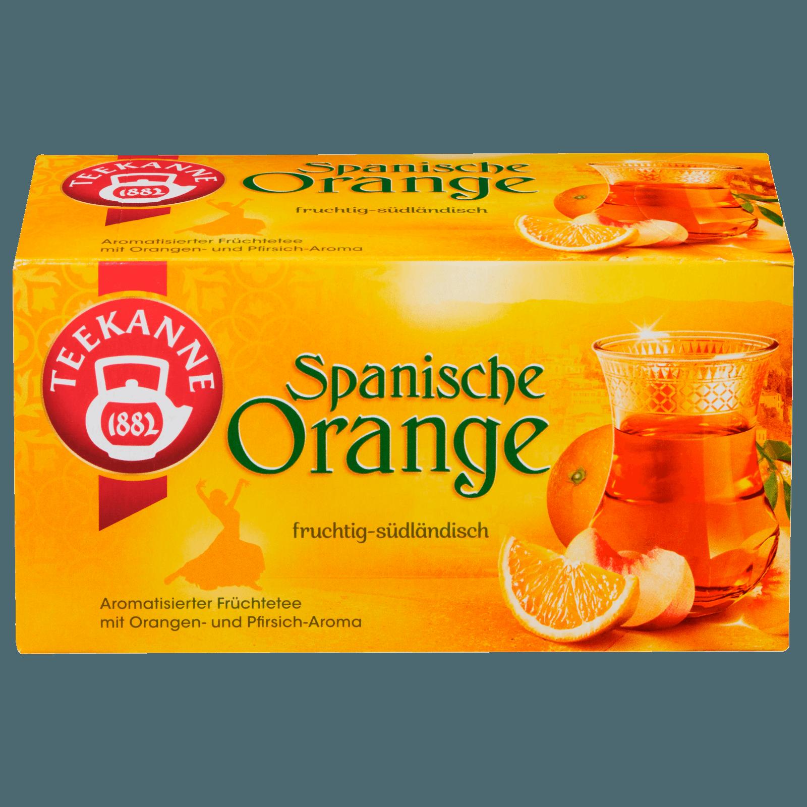 Teekanne Spanische Orange 50g, 20 Beutel