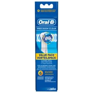 Oral-B Aufsteckbürsten Precision Clean 6 Stück