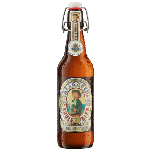 Allgäuer Büble Edel-Weißbier 0,5l
