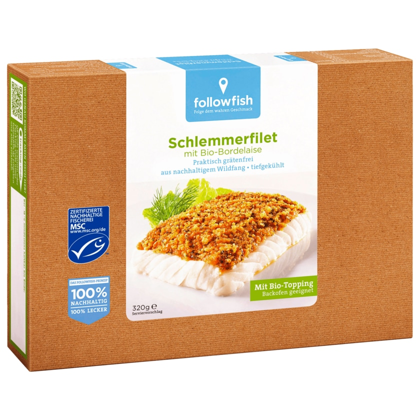 Followfish Schlemmerfilet Bio-Bordelaise 320g