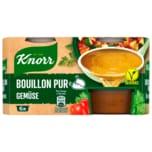 Knorr Bouillon Pur Gemüse Brühe 6x500ml