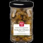 REWE Beste Wahl Kräuter-Oliven ohne Stein 150g