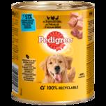 Pedigree Hundefutter 3 Sorten Geflügel Classic 800g