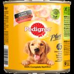 Pedigree Hundefutter mit Markknochen und Rind in Sauce 800g