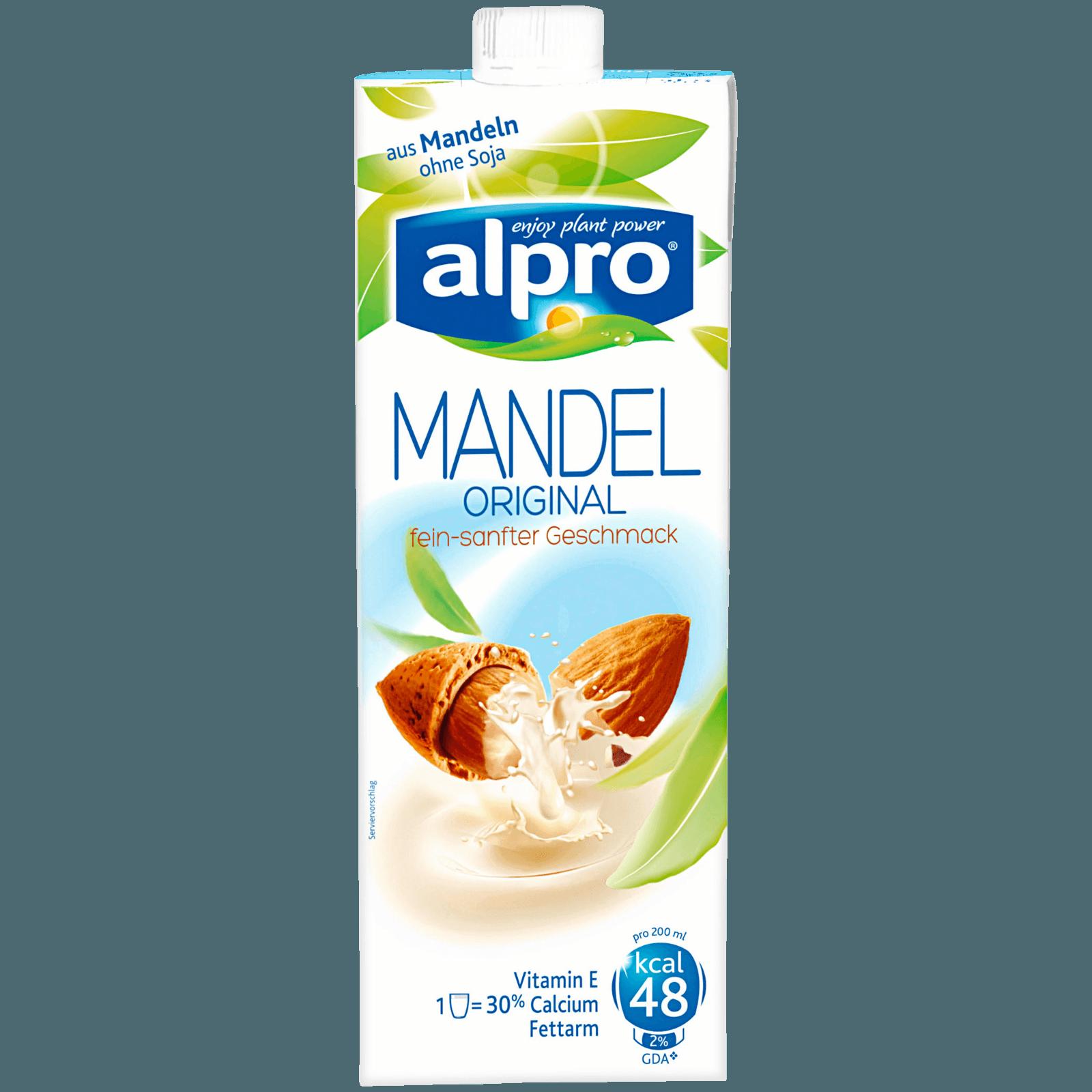 Alpro Mandeldrink, Original 1L