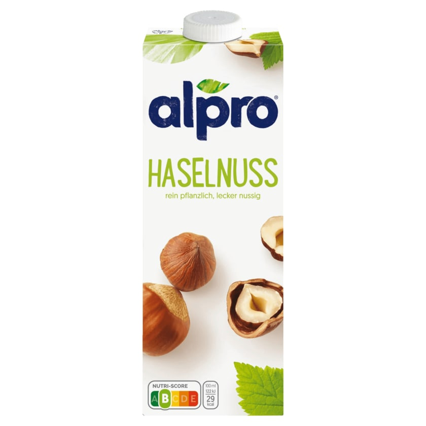 Alpro Haselnuss-Drink Original vegan 1l