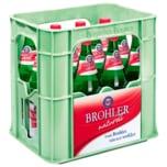 Brohler Mineralwasser Naturell 12x0,75l