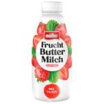 Müller Fruchtbuttermilch Erdbeere 500g