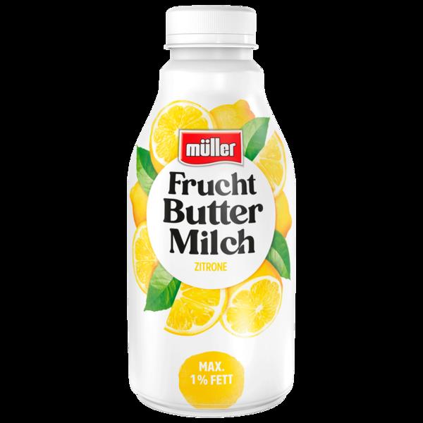 Müller Fruchtbuttermilch Zitrone 500g