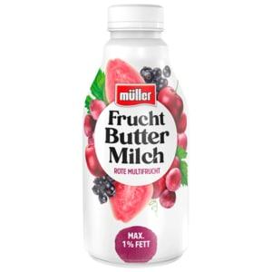 Müller Fruchtbuttermilch Rote Multifrucht 500g