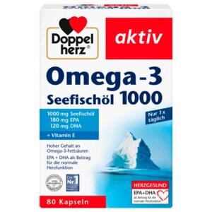 Doppelherz Omega-3 Seefischöl 1000 80 Stück