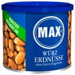 Max Würz Erdnüsse ohne Fett und Öl geröstet 300g